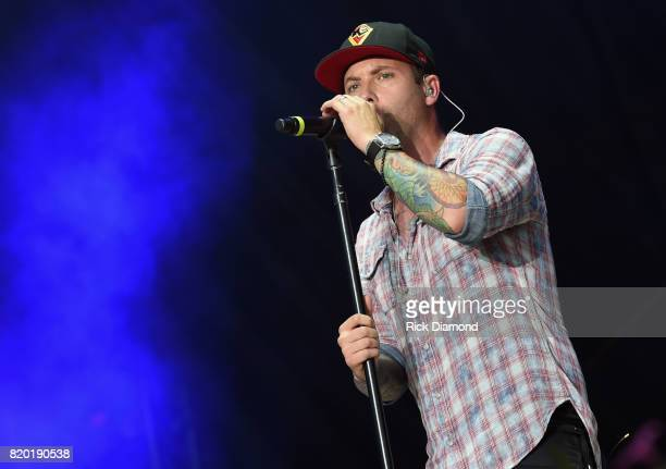 Dallas Smith performs at Country Thunder In Twin Lakes Wisconsin Day 1 on July 20 2017 in Twin Lakes Wisconsin
