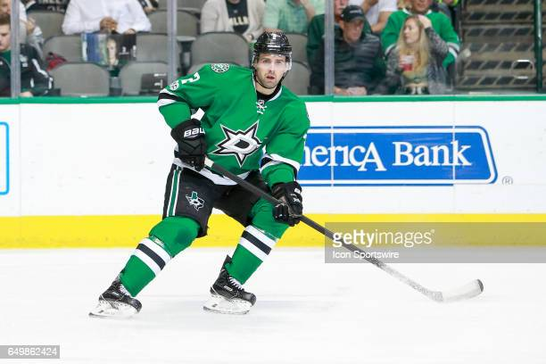 Dallas Stars Defenceman Dan Hamhuis during the NHL hockey game between the Ottawa Senators and Dallas Stars on March 8 2017 at the American Airlines...