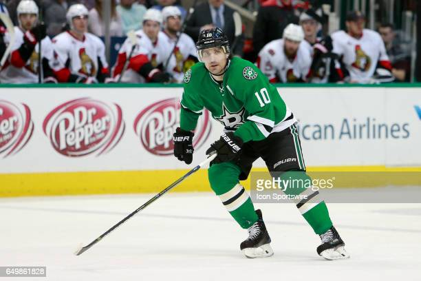 Dallas Stars Right Wing Patrick Sharp during the NHL hockey game between the Ottawa Senators and Dallas Stars on March 8 2017 at the American...