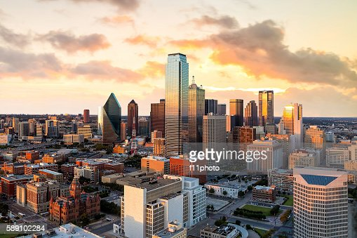 Dallas, Texas cityscape : Stock Photo