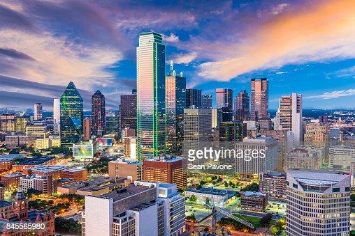 Dallas Texas Skyline : Stock Photo