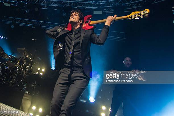 Dallon Weekes of Panic At The Disco Perform at Fabrique In Milan on stage on November 4 2016 in Milan Italy