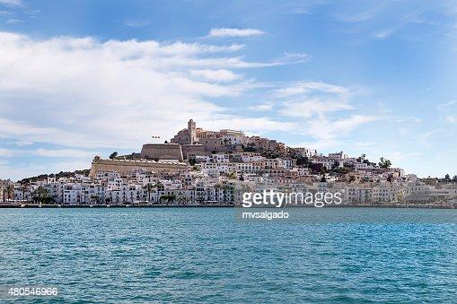 Dalt de Eivissa, ibiza old town : Stock Photo
