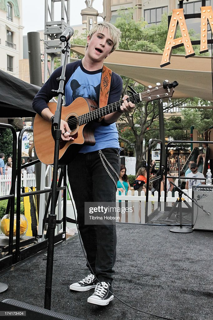 Dalton Rapattoni performs at the 'Wee Rock!' concert and benefit for the Children's Hospital of Los Angelesat at The Americana at Brand on July 20, 2013 in Glendale, California.