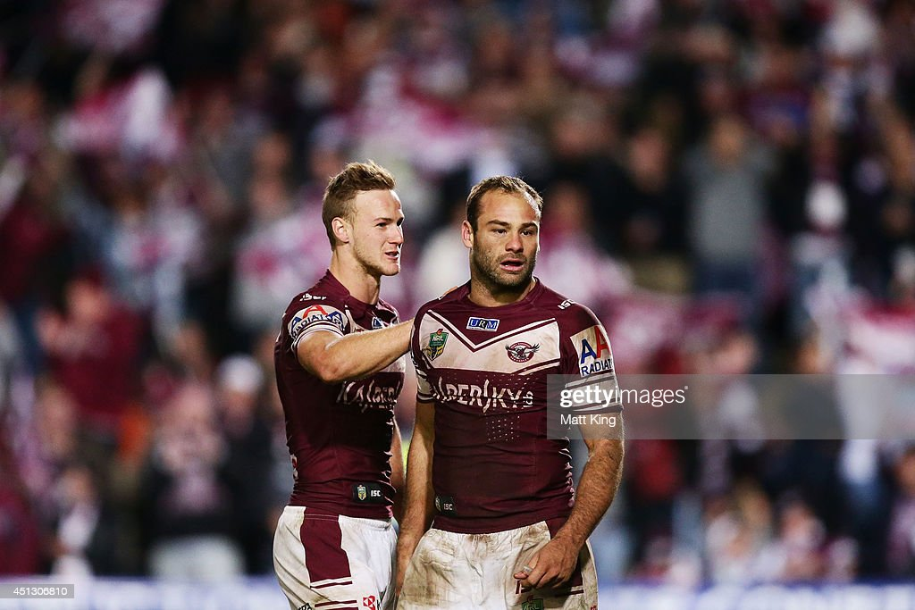 NRL Rd 16 - Sea Eagles v Roosters