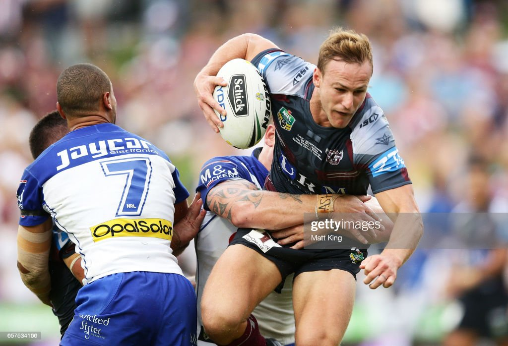 NRL Rd 4 - Sea Eagles v Bulldogs