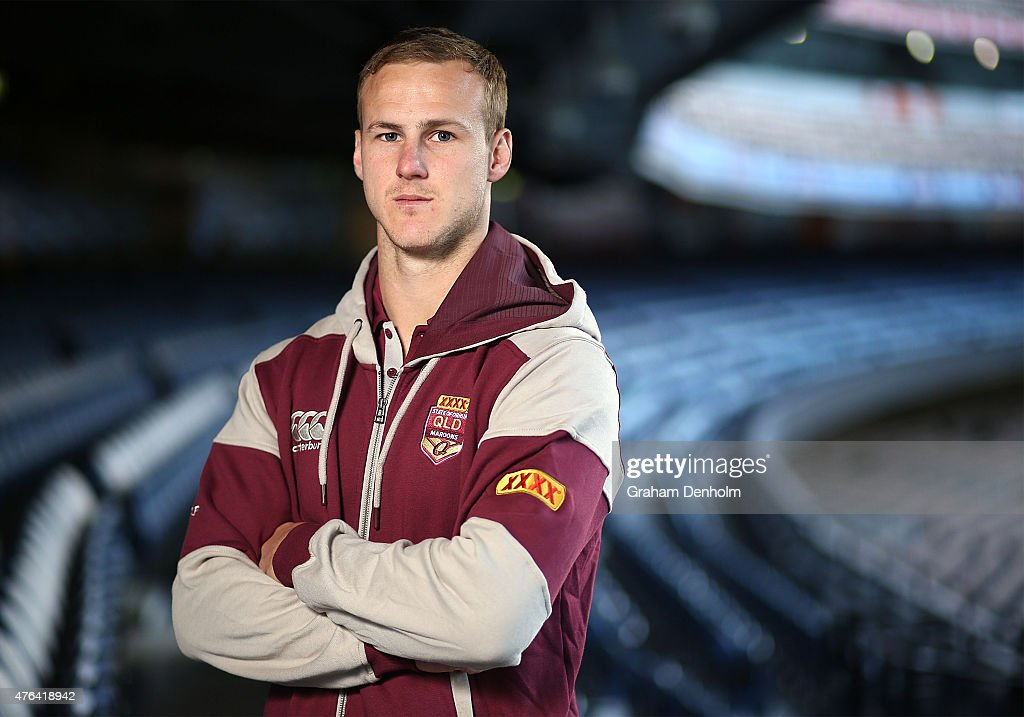 Daly Cherry-Evans poses during the Queensland Maroons State of Origin team announcement at Melbourne Cricket Ground on June 9, 2015 in Melbourne, Australia.