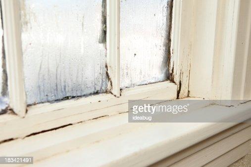Damaged, Rotting Window Inside Older Home