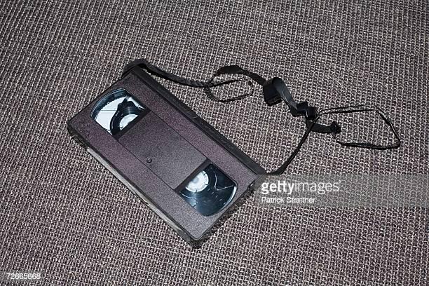 Damaged videocassette