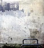 Damaged wall, São Paulo city, Brazil.