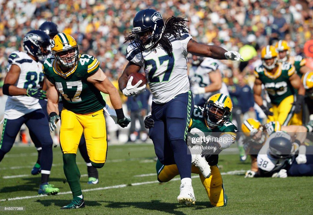 Seattle Seahawks vGreen Bay Packers