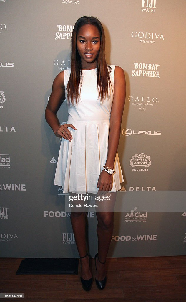 Damaris Lewis attends The FOOD & WINE 2013 Best New Chefs Party at Pranna Restaurant on April 5, 2013 in New York City.