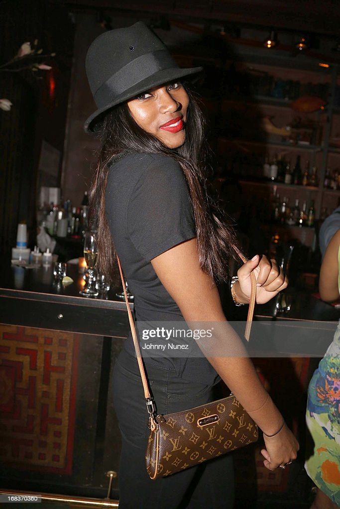<a gi-track='captionPersonalityLinkClicked' href=/galleries/search?phrase=Damaris+Lewis&family=editorial&specificpeople=4488492 ng-click='$event.stopPropagation()'>Damaris Lewis</a> attends the Talib Kweli Album Release Party at Mister H on May 8, 2013 in New York City.