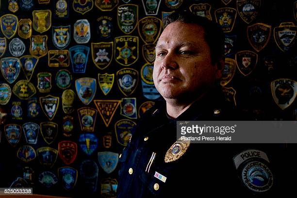Damariscotta police chief Ronald Young is photographed outside the police department Monday April 13 2015 Damariscotta was one of the towns that was...