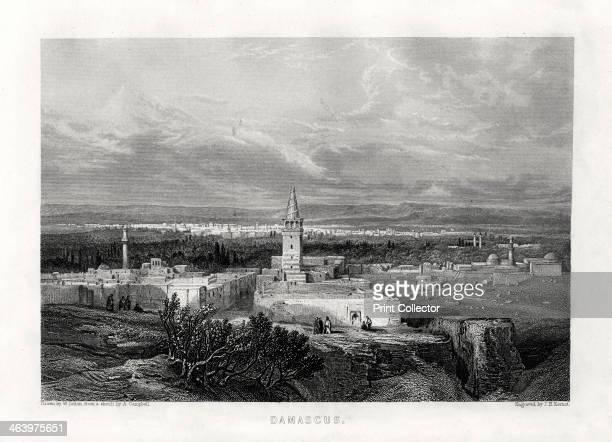 'Damascus' Syria 19th century