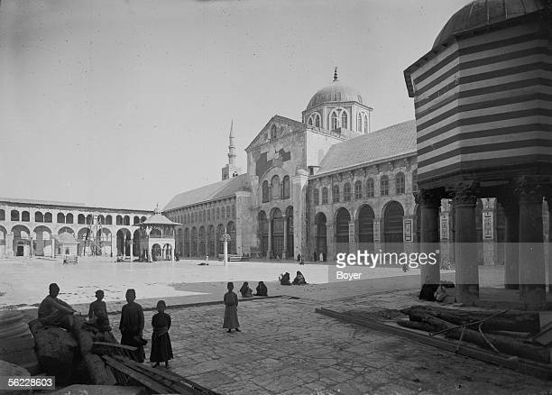 Damascus The Omeyyades mosque On 1914