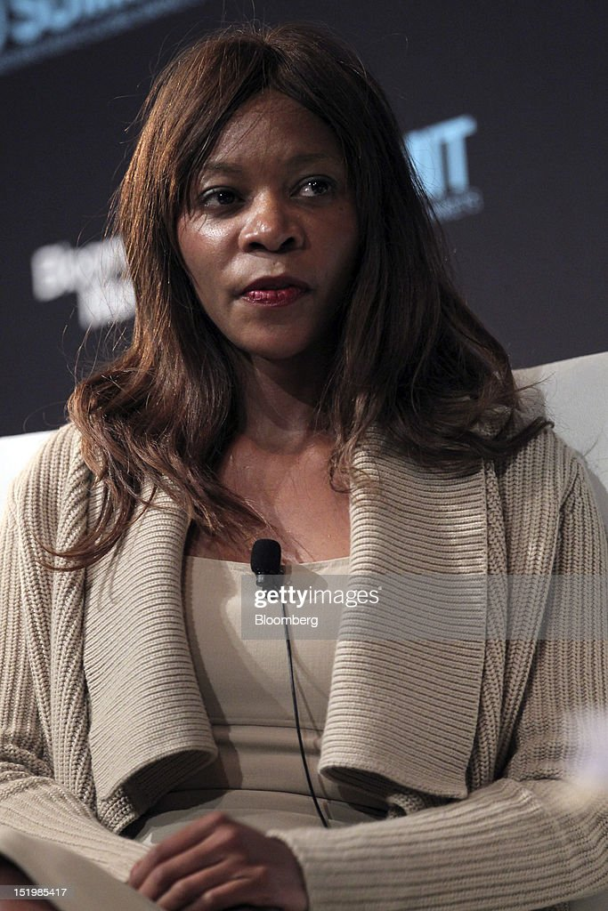 Dambisa Moyo, international economist and author, listens during the Bloomberg Markets 50 Summit in New York, U.S., on Thursday, Sept. 13, 2012. The conference brings together the world's most influential leaders in finance, business and government to discuss the global economy. Photographer: Jin Lee/Bloomberg via Getty Images