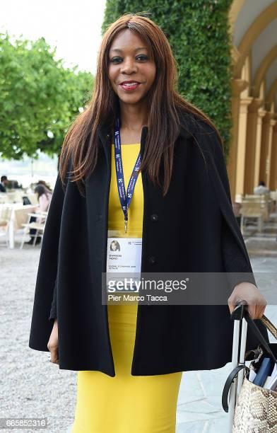 Dambisa Moyoi Global Economist attends 'Lo Scenario dell'Economia e della Finanza' forum at Villa d'Este Hotel on April 7 2017 in Como Italy 'The...