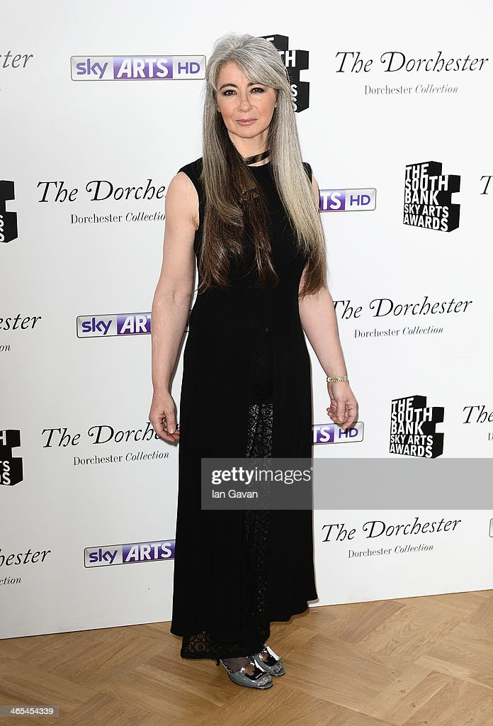 Dame Evelyn Glennie during the South Bank Sky Arts awards at the Dorchester Hotel on January 27, 2014 in London, England.