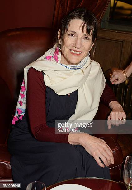 Dame Harriet Walter attends the press night after party for 'A View From Islington North' at The Garrick Club on May 24 2016 in London England