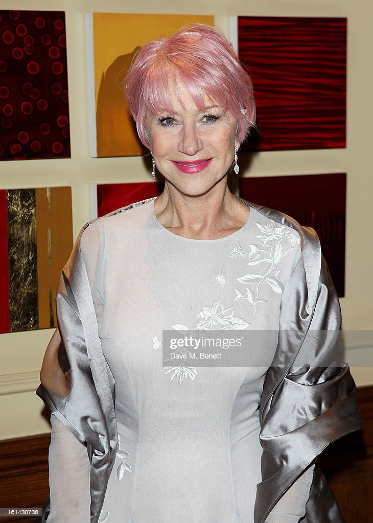 Dame Helen Mirren arrives at the after party following the EE British Academy Film Awards at Grosvenor House on February 10, 2013 in London, England.
