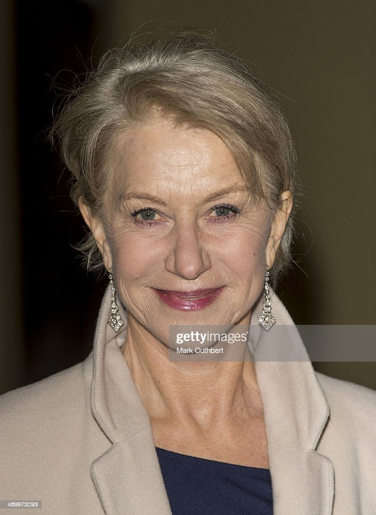 Dame <a gi-track='captionPersonalityLinkClicked' href=/galleries/search?phrase=Helen+Mirren&family=editorial&specificpeople=201576 ng-click='$event.stopPropagation()'>Helen Mirren</a> attends a Dramatic Arts Reception at Buckingham Palace on February 17, 2014 in London, England.