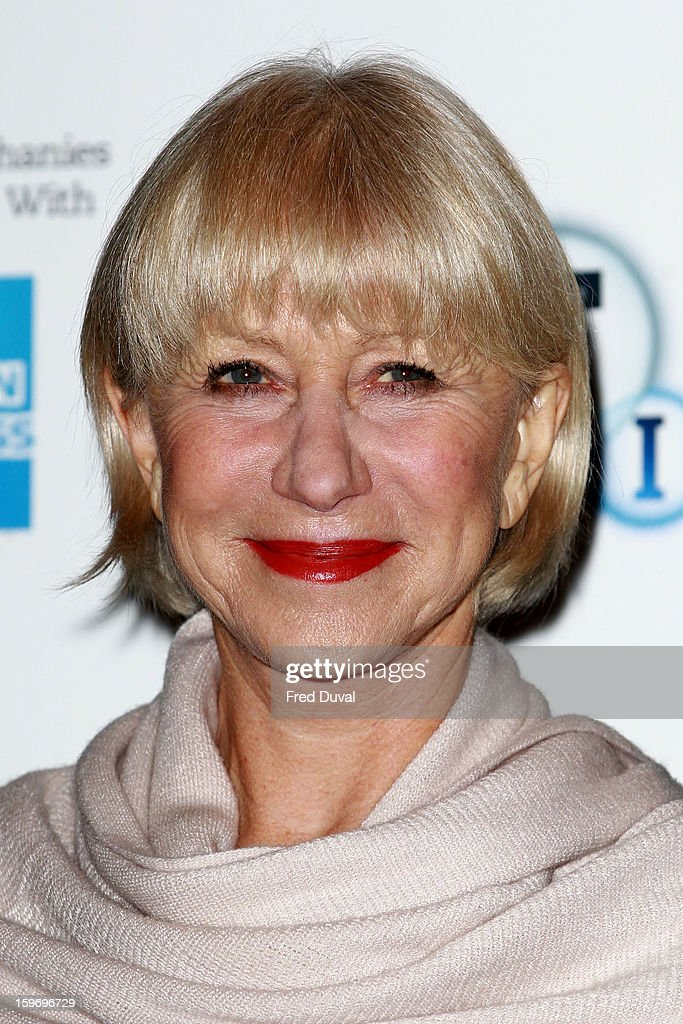 Dame <a gi-track='captionPersonalityLinkClicked' href=/galleries/search?phrase=Helen+Mirren&family=editorial&specificpeople=201576 ng-click='$event.stopPropagation()'>Helen Mirren</a> attends a photocall as part of the BFI Epiphanies series, to introduce a screening of the film that inspired her - 'L'Atlante' at BFI Southbank on January 18, 2013 in London, England.