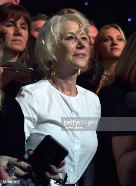 Dame Helen Mirren attends MusiCares Person of the Year honoring Tom Petty at the Los Angeles Convention Center on February 10 2017 in Los Angeles...
