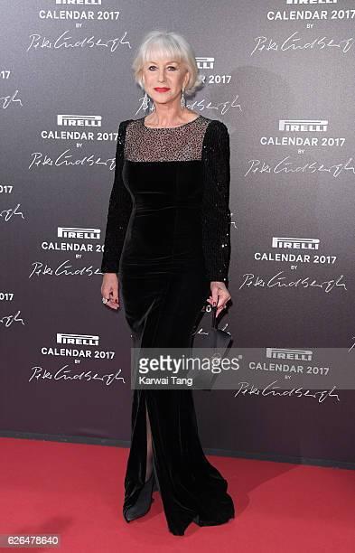 Dame Helen Mirren attends the 2017 Pirelli Calendar Gala Dinner at La Cite Du Cinema on November 29 2016 in SaintDenis France