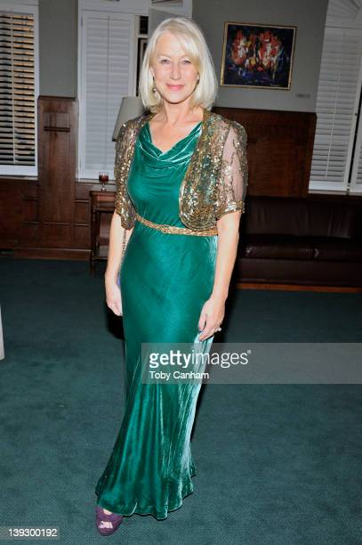 Dame Helen Mirren attends the 24th Annual Scripter Literary Achievement award presented by USC on February 18 2012 in Los Angeles California