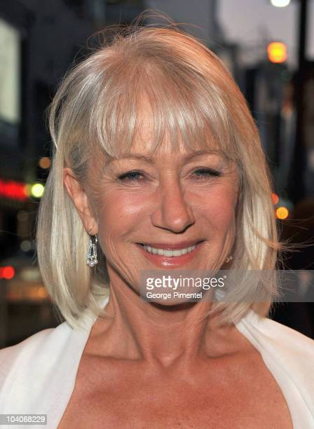 Dame Helen Mirren attends the 'Brighton Rock' Premiere held at the Winter Garden Theatre during the 35th Toronto International Film Festival on...