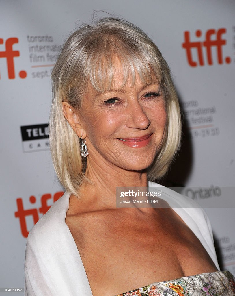 dame helen mirren attends the brighton rock premiere held at the picture id104070352