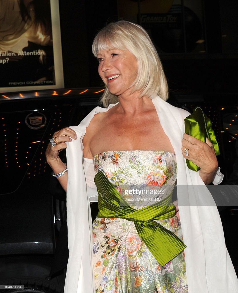 dame helen mirren attends the brighton rock premiere held at the picture id104070384