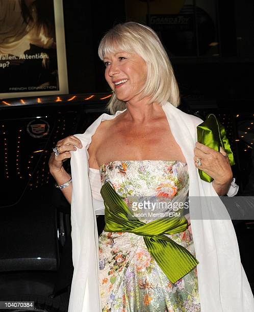 Dame Helen Mirren attends the 'Brighton Rock' Premiere held at the Winter Garden Theatre during the 35th oronto International Film Festival on...