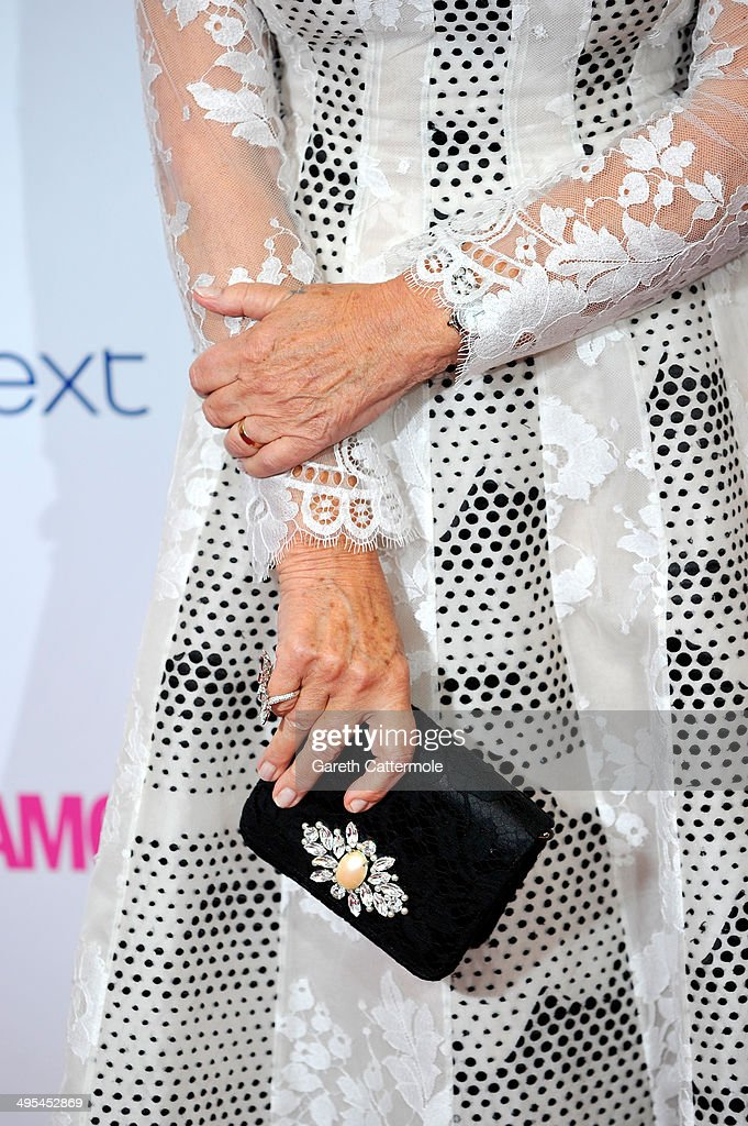 Dame Helen Mirren (detail) attends the Glamour Women of the Year Awards at Berkeley Square Gardens on June 3, 2014 in London, England.
