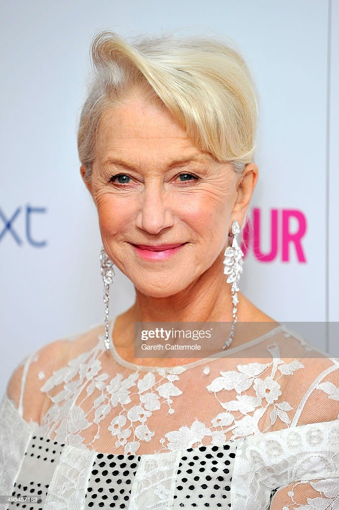 Dame Helen Mirren attends the Glamour Women of the Year Awards at Berkeley Square Gardens on June 3, 2014 in London, England.