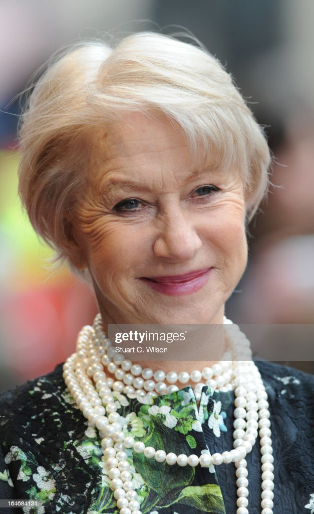 Dame Helen Mirren attends the Prince's Trust Celebrate Success Awards at Odeon Leicester Square on March 26, 2013 in London, England.