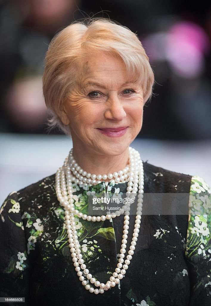 Dame <a gi-track='captionPersonalityLinkClicked' href=/galleries/search?phrase=Helen+Mirren&family=editorial&specificpeople=201576 ng-click='$event.stopPropagation()'>Helen Mirren</a> attends the Prince's Trust Celebrate Success Awards at Odeon Leicester Square on March 26, 2013 in London, England.