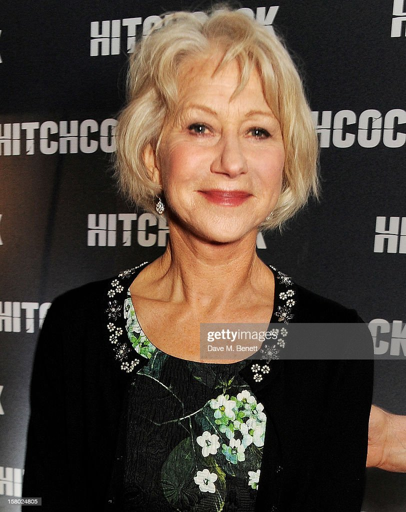 Dame Helen Mirren attends the UK Premiere of 'Hitchcock' at BFI Southbank on December 9 2012 in London England