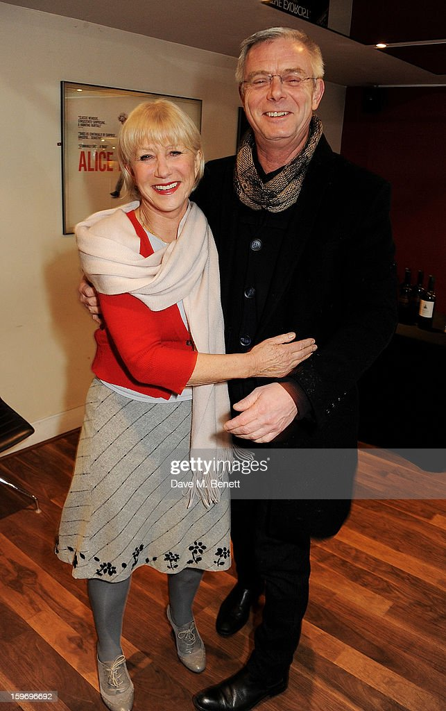 Dame <a gi-track='captionPersonalityLinkClicked' href=/galleries/search?phrase=Helen+Mirren&family=editorial&specificpeople=201576 ng-click='$event.stopPropagation()'>Helen Mirren</a> (L) poses with director <a gi-track='captionPersonalityLinkClicked' href=/galleries/search?phrase=Stephen+Daldry&family=editorial&specificpeople=207126 ng-click='$event.stopPropagation()'>Stephen Daldry</a> before introducing 'L'Atlante', a film that inspired her, as part of the BFI Screen Epiphanies series at BFI Southbank on January 18, 2013 in London, England.