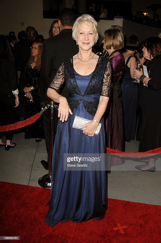 Dame Helen Mirrenarrives at the 63rd Annual DGA Awards held at the Grand Ballroom at Hollywood Highland Center on January 29 2011 in Hollywood...