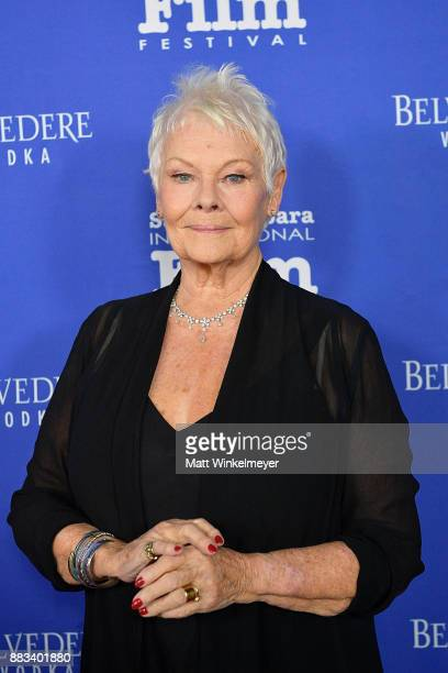 Dame Judi Dench attends the Santa Barbara International Film Festival honors Judi Dench with the annual Kirk Douglas Award For Excellence In Film at...