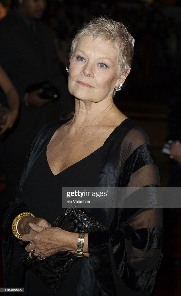 Dame Judi Dench during ''Casino Royale'' World Premiere - Red Carpet ...