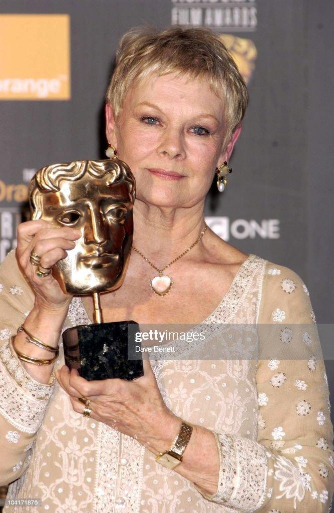 Dame Judi Dench, The Orange British Academy Film Awards (bafta) 2002, At The Odeon, Leicester Square, London