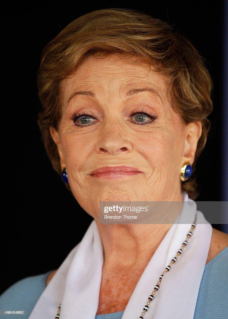 Dame Julie Andrews Media Conference