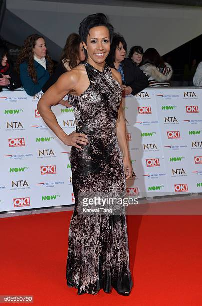 Dame Kelly Holmes attends the 21st National Television Awards at The O2 Arena on January 20 2016 in London England