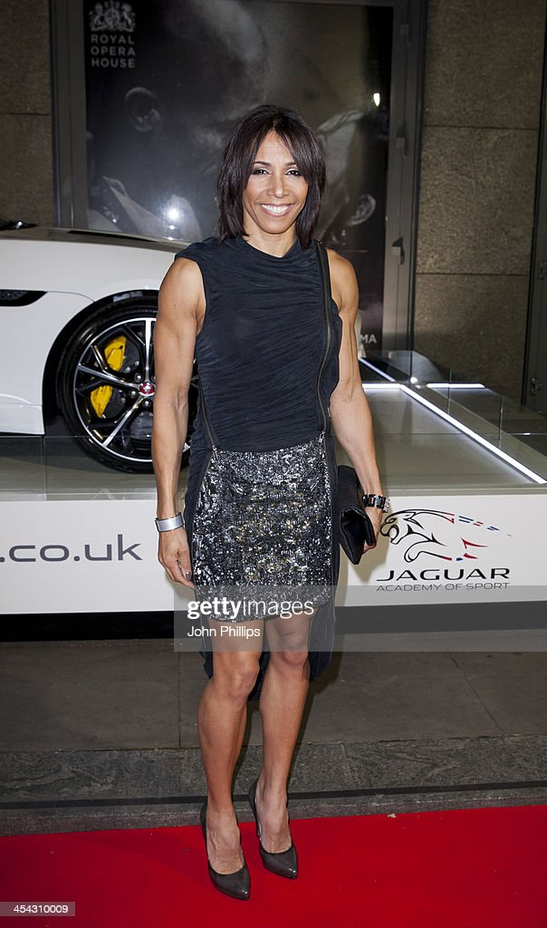 Dame <a gi-track='captionPersonalityLinkClicked' href=/galleries/search?phrase=Kelly+Holmes&family=editorial&specificpeople=213496 ng-click='$event.stopPropagation()'>Kelly Holmes</a> attends the Jaguar Academy of Sport annual awards at The Royal Opera House on December 8, 2013 in London, England.
