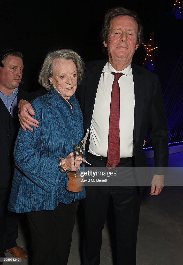Dame <a gi-track='captionPersonalityLinkClicked' href=/galleries/search?phrase=Maggie+Smith&family=editorial&specificpeople=206821 ng-click='$event.stopPropagation()'>Maggie Smith</a> and <a gi-track='captionPersonalityLinkClicked' href=/galleries/search?phrase=David+Hare&family=editorial&specificpeople=235927 ng-click='$event.stopPropagation()'>David Hare</a> attend the London Evening Standard British Film Awards at Television Centre on February 7, 2016 in London, England.