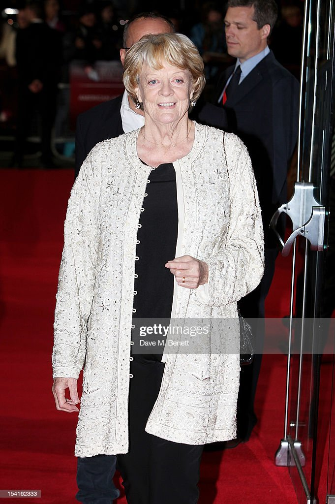 Dame Maggie Smith attends the Premiere of 'Quartet' during the 56th BFI London Film Festival at Odeon Leicester Square on October 15, 2012 in London, England.