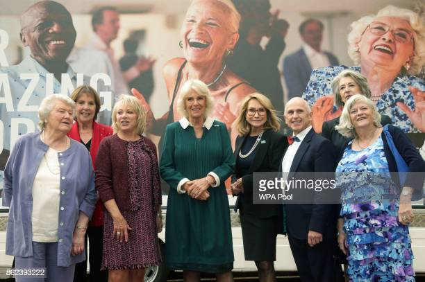 Dame Patricia Routledge Dame Penelope Wilton Elaine Paige Camilla Duchess of Cornwall Felicity Kendal Wayne Sleep Ann Widdecombe Maureen Lipman and...